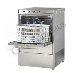Gläserspülmaschine – elektromechanisch – Korb Ø 36 cm – Einschubhöhe 18 cm – Reinigerdosierer – Klarspüldosierer