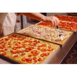 Elektro-Pizzaofen – 4 Bleche 60x40 cm oder 8 Pizzen mit Ø 40 cm – 2 Kammern – mechanische Steuerung