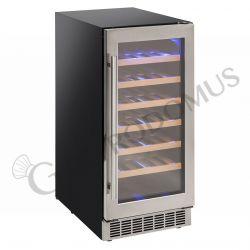 Einbau-Weinkühlschrank – Umluftkühlung – Temperaturbereich + 5 °C / + 18 °C