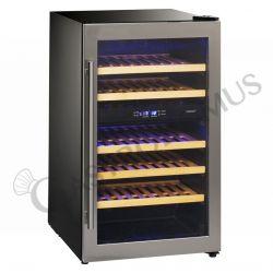 Weinkühlschrank FREE STANDING – Umluftkühlung – 2 Temperaturzonen +5°C/+10°C und +10°C/+18°C