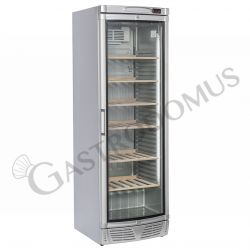 Weinkühlschrank – silberfarben – Kapazität 350 L – Temperaturbereich + 7 °C / + 18 °C