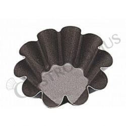 Briocheform – 10 rippen – Antihaftbeschichtung – Ø 6 cm