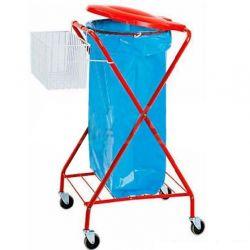 """Wäsche- und Abfallsammler – """"X"""" – lackiert – Korb"""