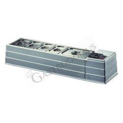 Kühlaufsatz – Tischgerät – B 1270 mm x T 330 mm x H 230 mm