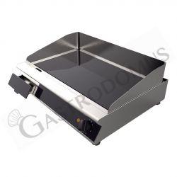 Glaskeramikbratplatte – professionell – 2 Kochzonen – B 660 mm x T 510 mm x H 120 mm