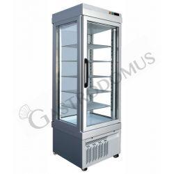 Tiefkühlvitrine – Umluftkühlung – 3 Glasfronten – 405 l – Temperatur -25 °C/+5 °C