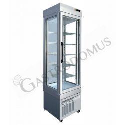 Tiefkühlvitrine – Umluftkühlung – 3 Glasfronten – 255 l – Temperatur -25 °C/+5 °C