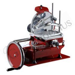 Schwungrad-Schneidemaschine – Aluminium – Einbrennlackierung – Durchmesser 300 mm – Nutzschnitt von 230 x H 190 mm