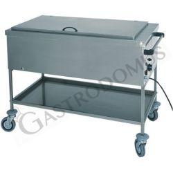 Topfwärmer – Fläschchen wärmer – Trockenheizelement – B 840 mm x T 650 mm x H 850 mm