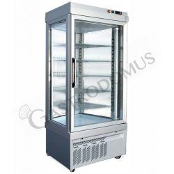 Panoramakühlvitrine – Umluftkühlung – 1 Tür – 595 l – Temperatur -5 °C/+10 °C