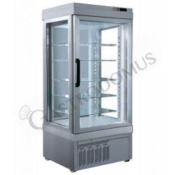 Kuchenvitrine – Umluftkühlung – 3 Glasfronten – 590 l – Temperatur -5 °C/+10 °C