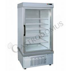 Kühlvitrine für Konditoreien – Umluftkühlung – 1 Glastür – 535 l – Temperatur -5 °C/+10 °C