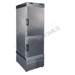 Tiefkühlschrank für Eisdielen – Umluftkühlung – 620 l – 2 Temperaturzonen -25°C/+5°C und -40°C/-18°C