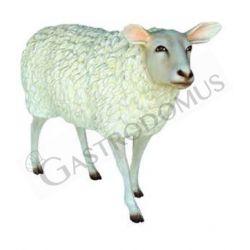 Lebensgroßes Dekotier – stehendes Schaf – Höhe 85 cm