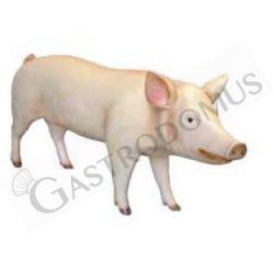 Lebensgroßes Dekotier – stehendes Schwein – Höhe 70 cm