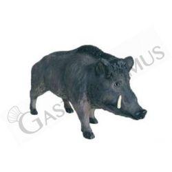 Lebensgroßes Dekotier – stehendes Wildschwein – Höhe 90 cm