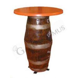 Tisch – Fassform – Höhe 83 cm