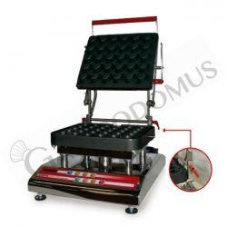 Tartelettes-Maschine für eine Höhe bis 45 mm – Abmessungen B 53 cm x T 40 cm x H 40 cm