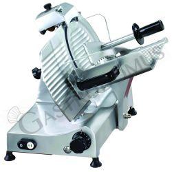 Schwerkraftschneider – Aluminium – Durchmesser 300 mm – Messerschleifer – Nutzschnitt B 220 mm x H 220 mm