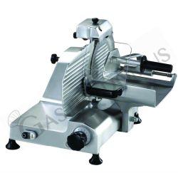 Vertikalschneider – Aluminium – Durchmesser 250 mm – fester Messerschleifer