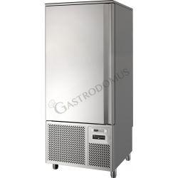 Schockfroster-Schnellkühler – Vorrichtung für 15 GN1/1 Bleche oder 15 Gitter 60 x 40 cm – Ertrag 60 kg +90°C/+3°C