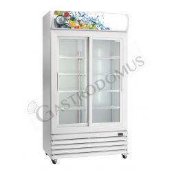 Getränkekühlschrank – Nutzvolumen 670 L– Leuchtaufsatz – Temperaturbereich +2 °C / + 8 °C