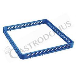 Universal Aufsatzrand – blau – H 45 mm