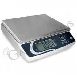 Tischwaage – Stückzählung – Kapazität 10 Kg – Präzision 1 g
