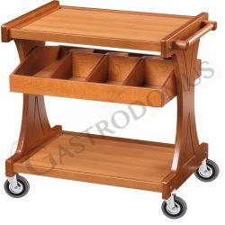 Besteckwagen – Holz – B 1060 mm x T 550 mm x H 850 mm
