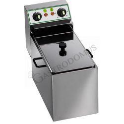 Tischfritteuse – elektrisch – 1 Becken – Kapazität 4 L – 2500 W