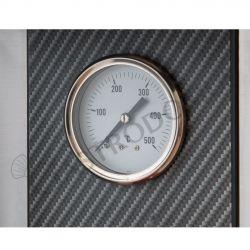 Teigausrollmaschine aus Edelstahl – automatisch – geneigte Rollen – für 14/29 cm Pizzateig