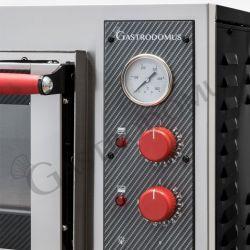 Teigausrollmaschine aus Edelstahl – geneigte Rollen – für 26/40 cm Pizzateig