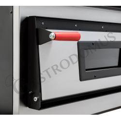 Elektro-Pizzaofen – 1 + 1 Blech oder 2 + 2 Pizzen Ø 35 cm – 2 Kammern – mechanische Steuerung
