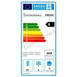 Kühlschrank mit Umluftkühlung – 2 Türen – Temperaturbereich -2 °C / + 8 °C – Volumen 1300 L