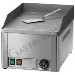 Bratplatte – Tischgerät – glatt – sandgestrahltem Stahl – Leistung 3000 W