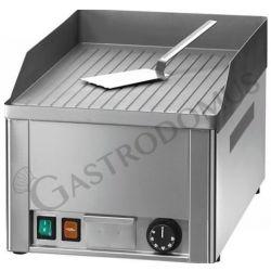 Elektro Bratplatte Tischgerät mit gerillter sandgestrahlter Platte und Leistung 3 KW