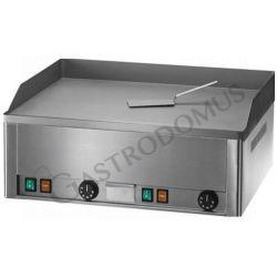 Bratplatte – Tischgerät – glatt – doppelt – sandgestrahlt – Leistung 6000 W