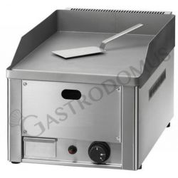 Bratplatte – Tischgerät – Gas – glatt – sandgestrahltem Stahl – Leistung 4000 W