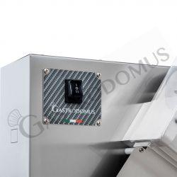 Schwungrad-Schneidemaschine – Aluminium – Einbrennlackierung – Durchmesser 350 mm – Nutzschnitt von B 270 x H 240 mm