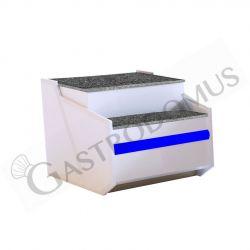 GN 1/6 Behälter – Polycarbonat – B 176 mm x T 162 mm x H 65 mm – 1 Liter