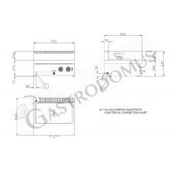 Durchreicheschranktisch Edelstahl – Schiebetüren – B 1000 mm x T 800 mm x H 850 mm