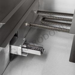 Gas Grillplatte – verchromt – Standgerät – 6900 W – Serie 900