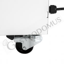 Haubenspülmaschine – elektromechanisch – Korb 50 cm x 50 cm – Einschubhöhe 43 cm – Klarspüldosierer