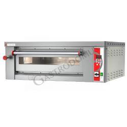 Elektro-Pizzaofen – 4 Pizzen mit Ø 30/34 cm – 1 Kammer – digitale Steuerung