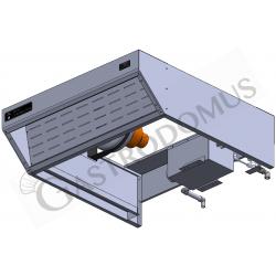 Eistiefkühlschrank mit Umluftkühlung – 700 L – Temperaturbereich - 18°C / - 22°C