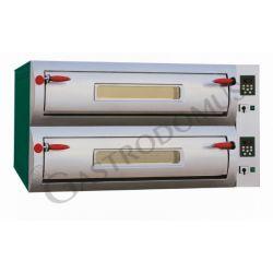 Elektro-Pizzaofen Professional – 12 Pizzen mit Ø 30/34 cm – 2 Kammern – digitale Steuerung