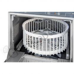 Schockfroster aus Edelstahl – Vorrichtung für 5 GN1/1 Bleche oder 5 EN Bleche 600 x 400 mm - Ertrag 15 Kg +90°C/+3°C