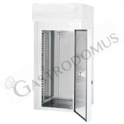 Kühlschranktisch - 3 Türen - Temperatur -2°C/+8°C - B 1795 mm x T 700 mm x H 650 mm