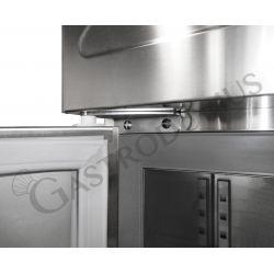 Kühltisch - 3 Türen - Tiefe 600 mm - Temperatur -2°C/+8°C - Fernmotor