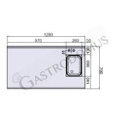 Kasten-Radialventilator – dreiphasig – separater Motor – 2500 m3/h